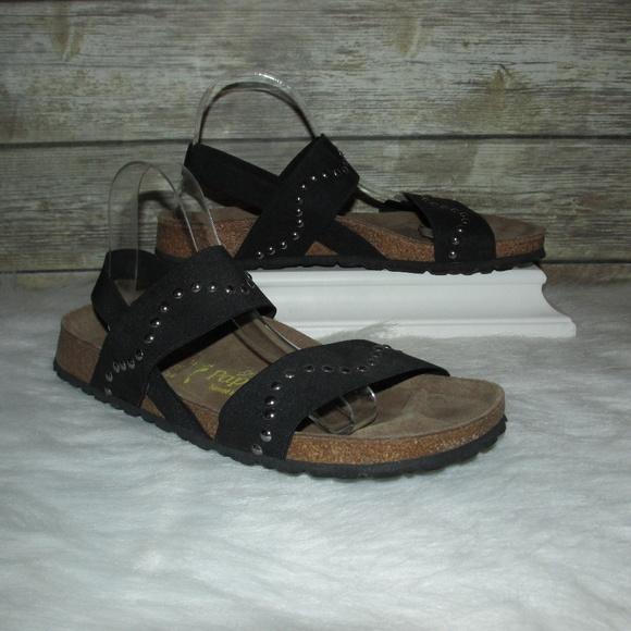 38f69e511170b Birkenstock Shoes - Papillio Birkenstock Caterina Black Strap Sandals